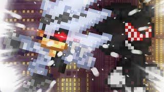 Fleetway Dark Sonic Vs Scourge Sprite Animation (Repost)