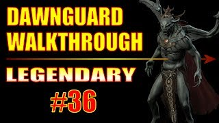 Skyrim Dawnguard Walkthrough - #36, Kindred Judgement (Boss Fight!)