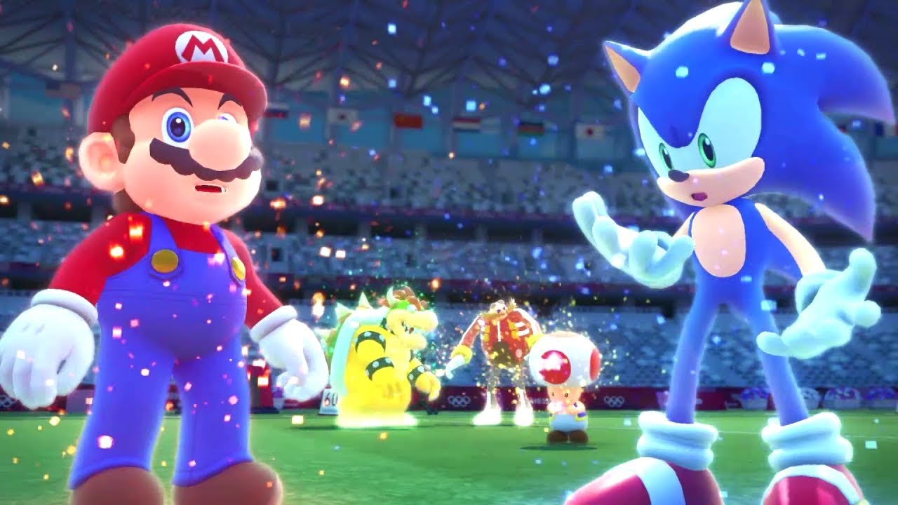 Mario & Sonic at the Olympic Games - Wikipedia