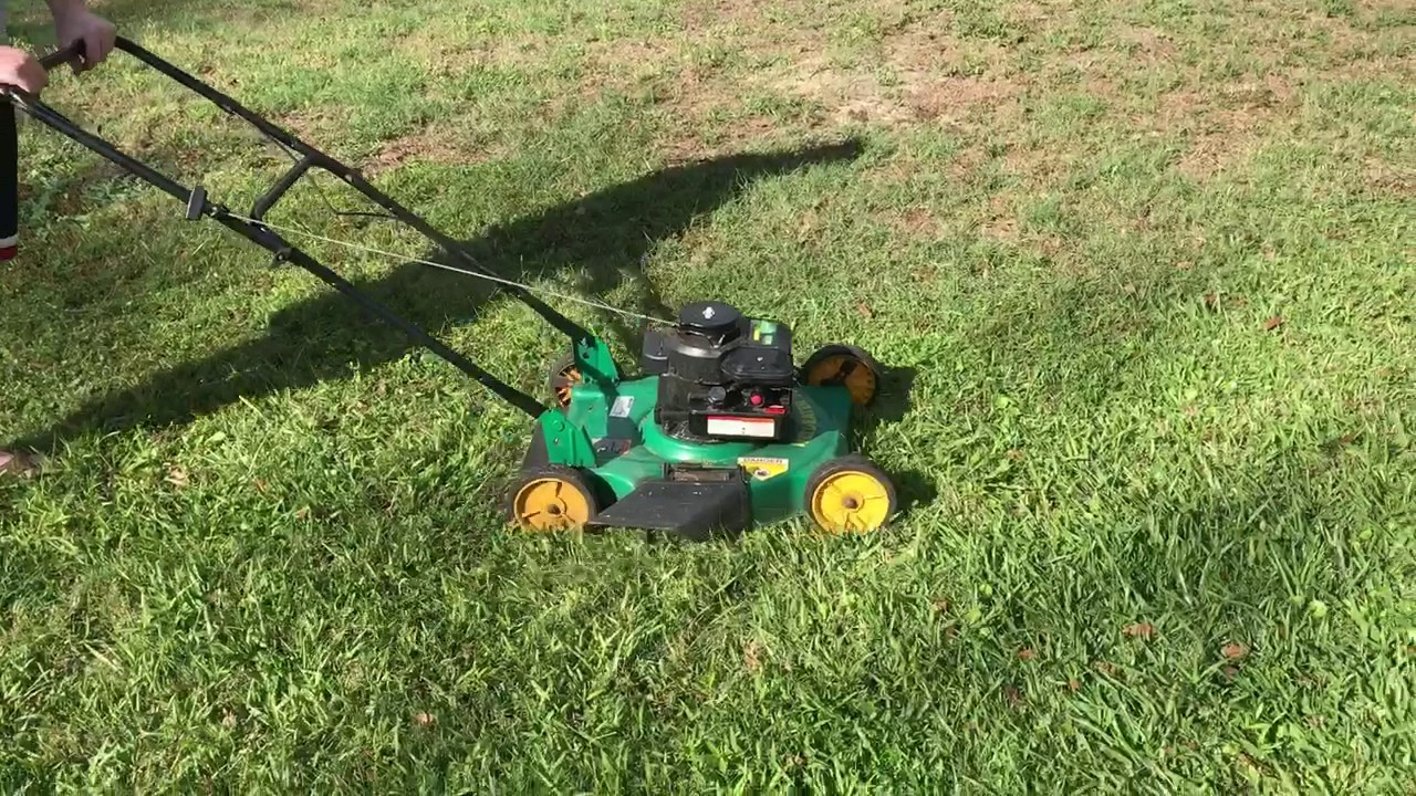 20quot Weed Eater Lawn Mower Youtube