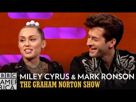 Miley Cyrus and Mark Ronson Are At The Right Moment | The Graham Norton Show | BBC America