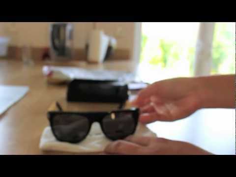 3e9ee89479dc RetroSuperFuture Unboxing (Flat Top Francis - Black/Gold) - YouTube