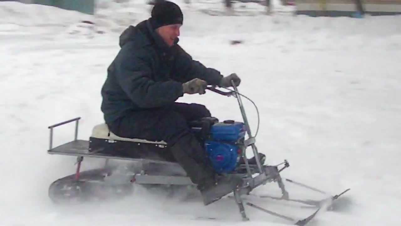 Мини снегоходы своими руками видео 492