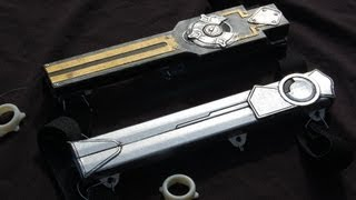 Assassin's Creed Prop Weapons: Gravity Hidden Blade, Gun, Sword, Apple Of Eden