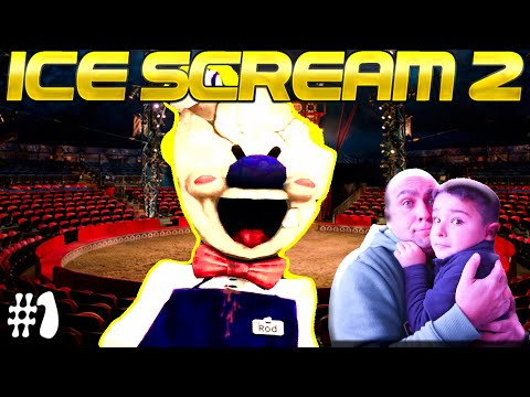ICE SCREAM MAN 2! Scary Game Where Chump Plubby Ones Don't Survive! (Tubers FunFam)