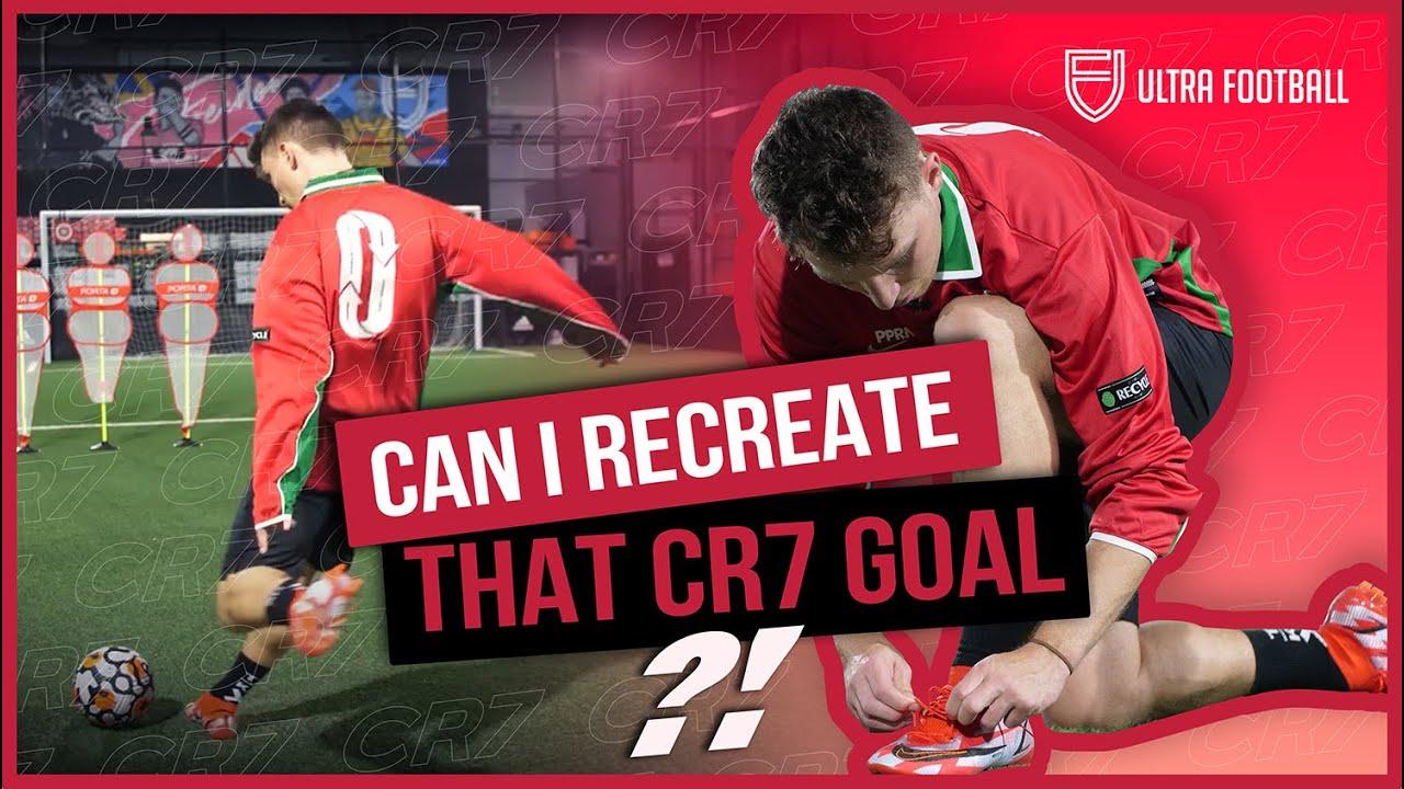 These boots make you play like CR7!? | Ronaldo Freekick Recreation