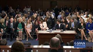 Word for Word: Senate Democrats Object to Kavanaugh Supreme Court Confirmation Hearings (C-SPAN)