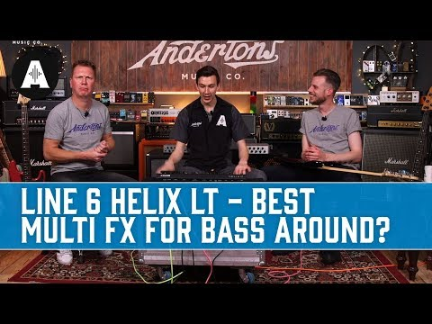 Line 6 Helix LT - The Best Multi FX for Bass Around?