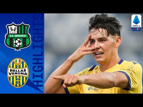 Sassuolo 3-3 Hellas Verona | Sassuolo Score 97th Minute Equaliser In 6-Goal 2nd Half! | Serie A TIM