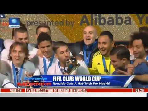 Sports This Morning: Real Madrid Now FIFA Club World Cup Champion