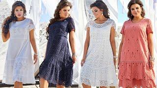 Белорусские х б платья на лето 2021 Хлопковые платья больших размеров