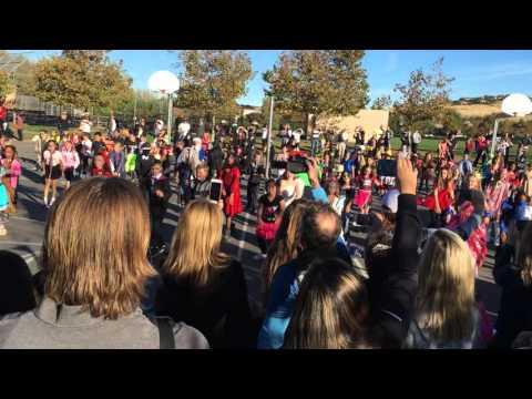 Thriller, Oak Meadow fourth graders