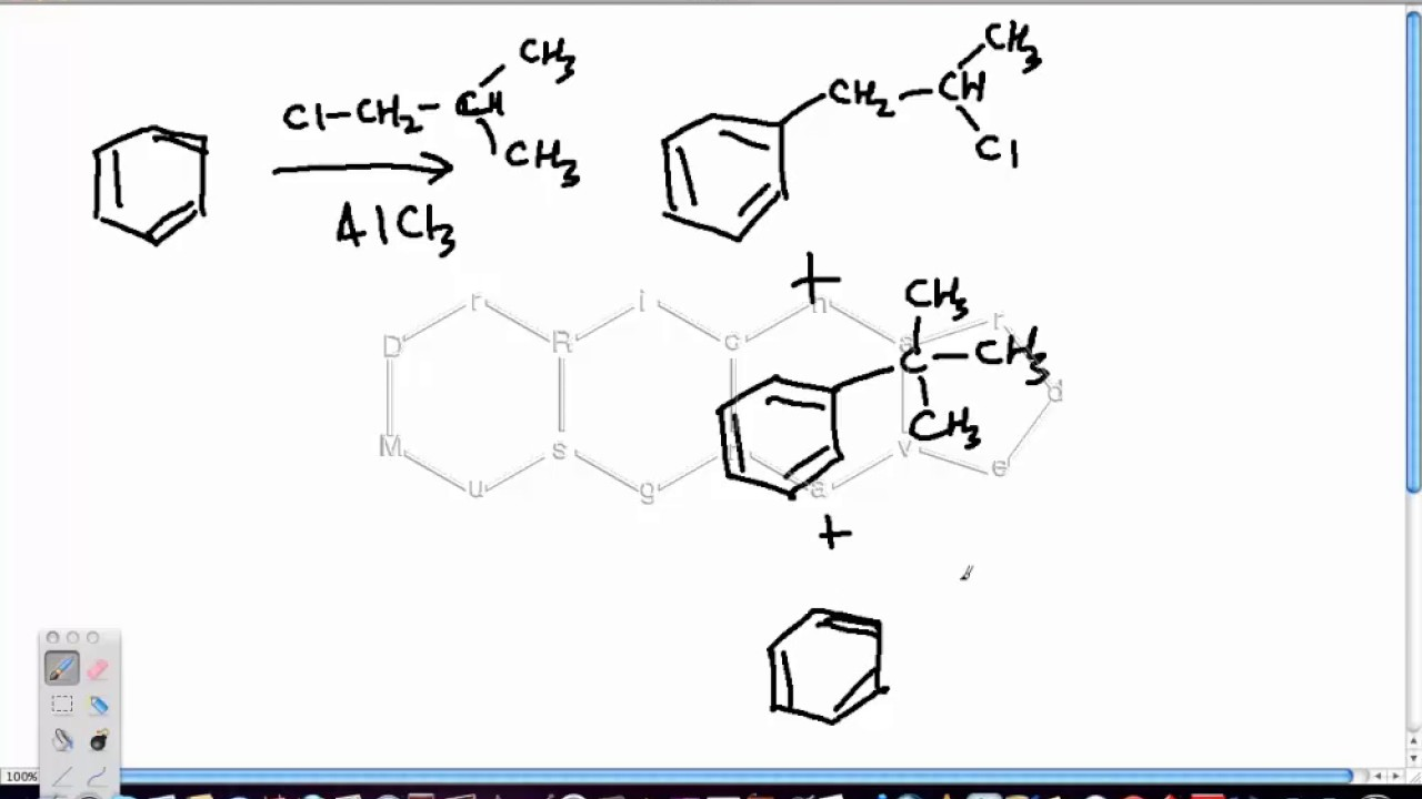 Friedel Crafts Alkylation Part 3 (More Complex Carbocation Rearrangements)