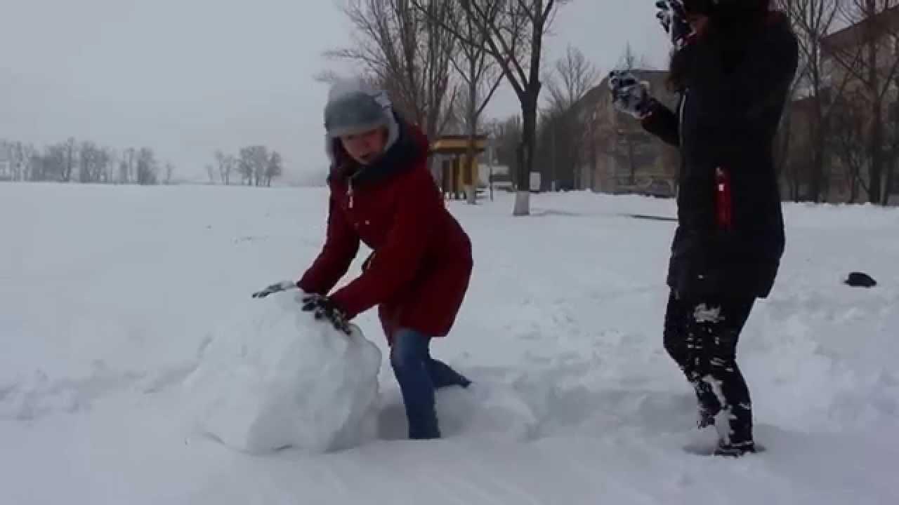 Как сделать своими руками снежный ком фото 480