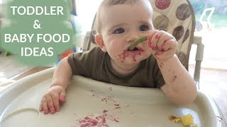 TODDLER AND BABY FOOD IDEAS