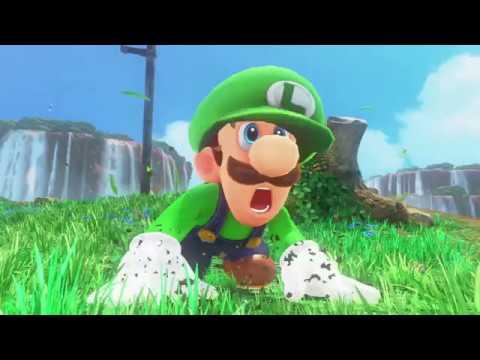 Super Luigi Odyssey (Mod) - Full Playthrough/Longplay
