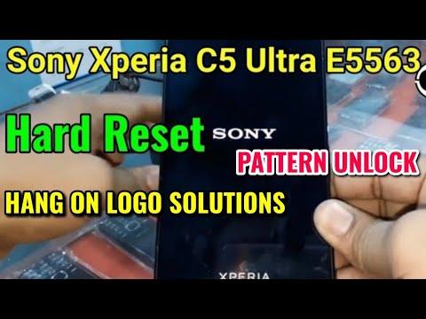 sony xperia z/z2/z3 hard reset unlock pattern lock   sony