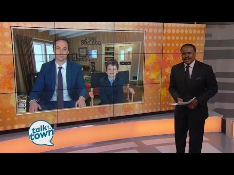 Big Bang Theory star Jim Parsons & Young Sheldon star Iain Armitage