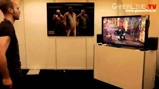 GamesCom 2010:  Fighters Uncaged for Xbox Kinect Game Developer Preview Interview