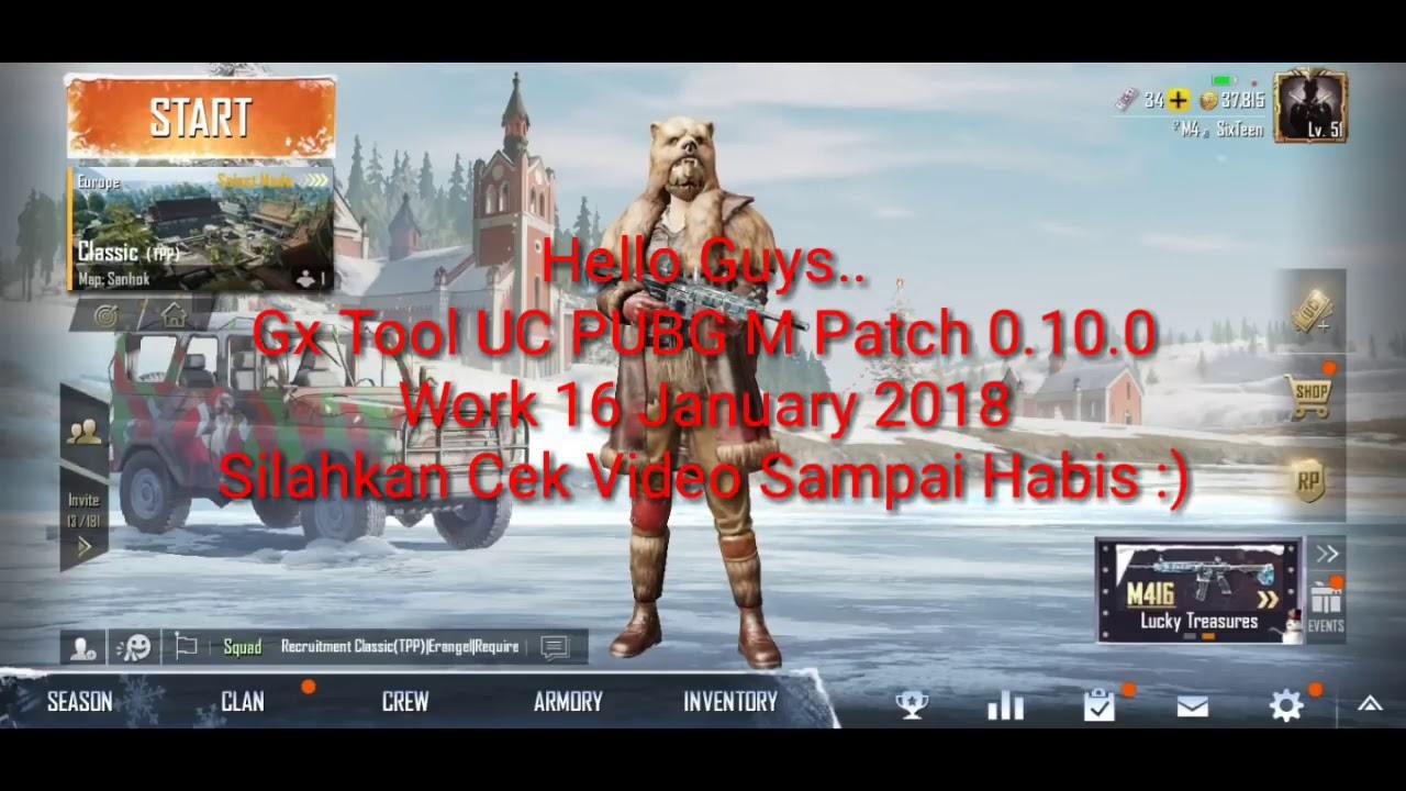 Gx tool for pubg free uc