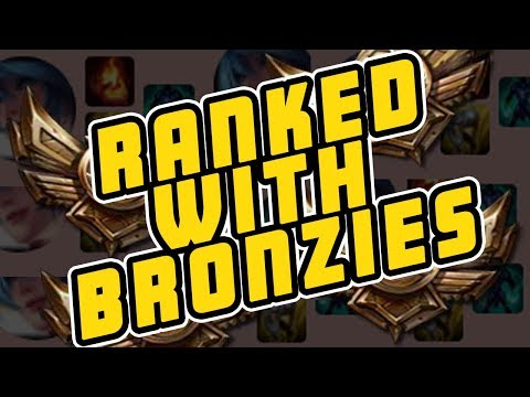 RANKED WITH BRONZIES - Trick2G