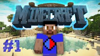Minecraft SMP: HOW TO MINECRAFT #1 'A NEW WORLD!' with Vikkstar