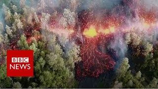 Hawaii volcano: Mount Kilauea volcano erupts - BBC News