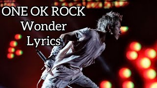 ONE OK ROCK 2020.10.11 FIELD OF WONDER Wonder.