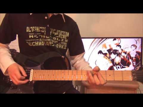 Haikyuu!! Karasuno Vs Shiratorizawa OP - Hikari Are  『BURNOUT SYNDROMES - ヒカリアレ』 Guitar Cover