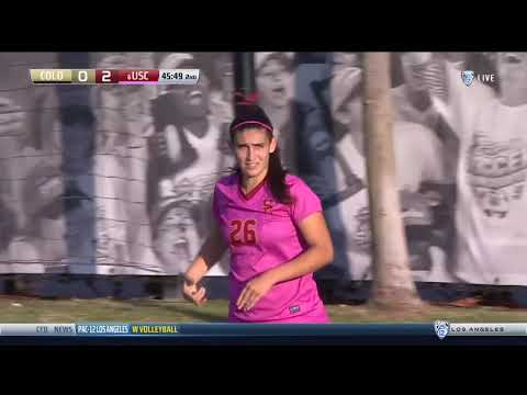 USC Women's Soccer: USC 2, Colorado 0 - Highlights (10/13/17)
