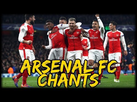 ARSENAL FC CHANTS + LYRICS!