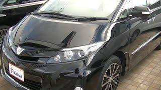 2016 新型 トヨタ エスティマハイブリッド アエラス プレミアムG 内外装