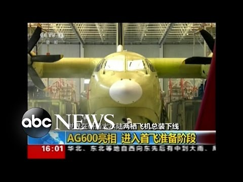 World's Largest Amphibious Aircraft Unveiled in China