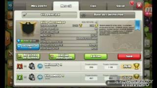 Clash of clans ESTRATEGIA DE ATAQUE! Cv2-3 CASA DO CONSTRUTOR!