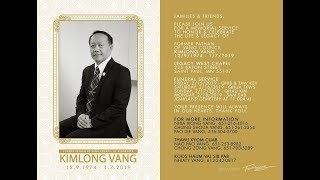 3HMONGTV LIVE COVERAGE OF KIMLONG VANG'S FUNERAL SERVICES.
