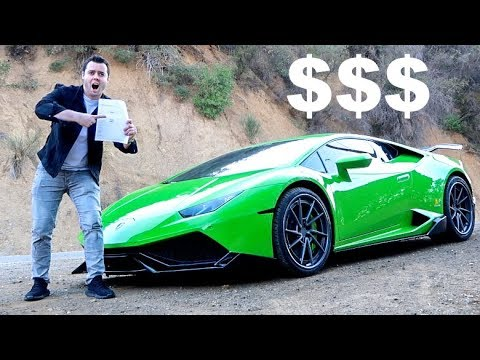 INSURING A LAMBORGHINI AT AGE 23?? *Price Will Shock You*