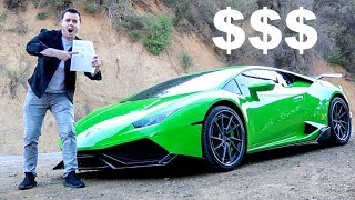 INSURING A LAMBORGHINI AT AGE 23?? *Price Will Shock You* thumbnail