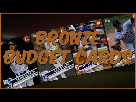 The Show 17 Diamond Dynasty | Bronze Budget Cards - Budget Beasts At Every Position
