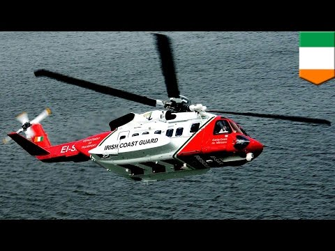 Helicopter crash: Ireland coastguard helicopter crash leaves one dead, three missing - TomoNews