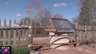 видео Как сделать колодезный домик своими руками