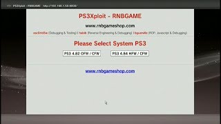 PS3Xploit Tool HAN - HFW 4.84 Offline Miniweb