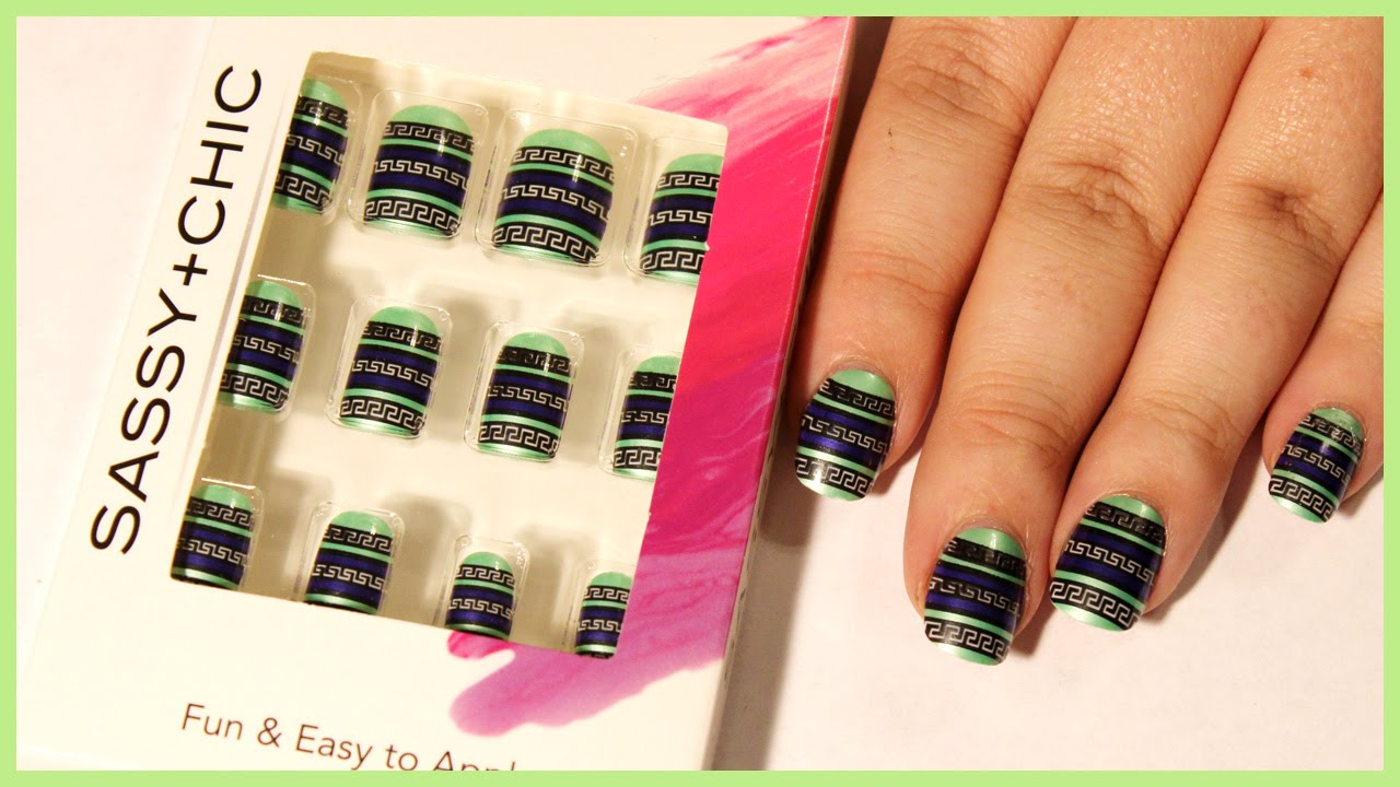 Dollar Tree Nails | Review - YouTube