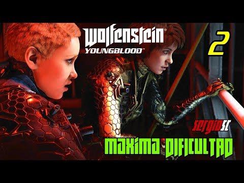 Wolfenstein: Youngblood #2 MODO Desafío / Solitario / Sin Puntería Asistida / Sin HUD - DIRECTO