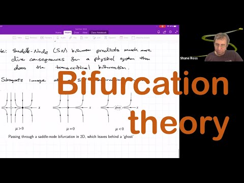 Bifurcation theory: saddle-node,