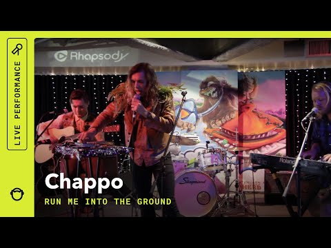 "Chappo, ""Run Me IntoThe Ground"": Rhapsody Live (VIDEO)"