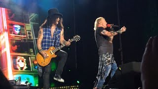 Guns N' Roses - Welcome To The Jungle - Live in Tel Aviv Israel 2017