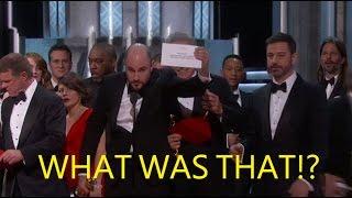 Oscars 2017 Recap: What Happened?