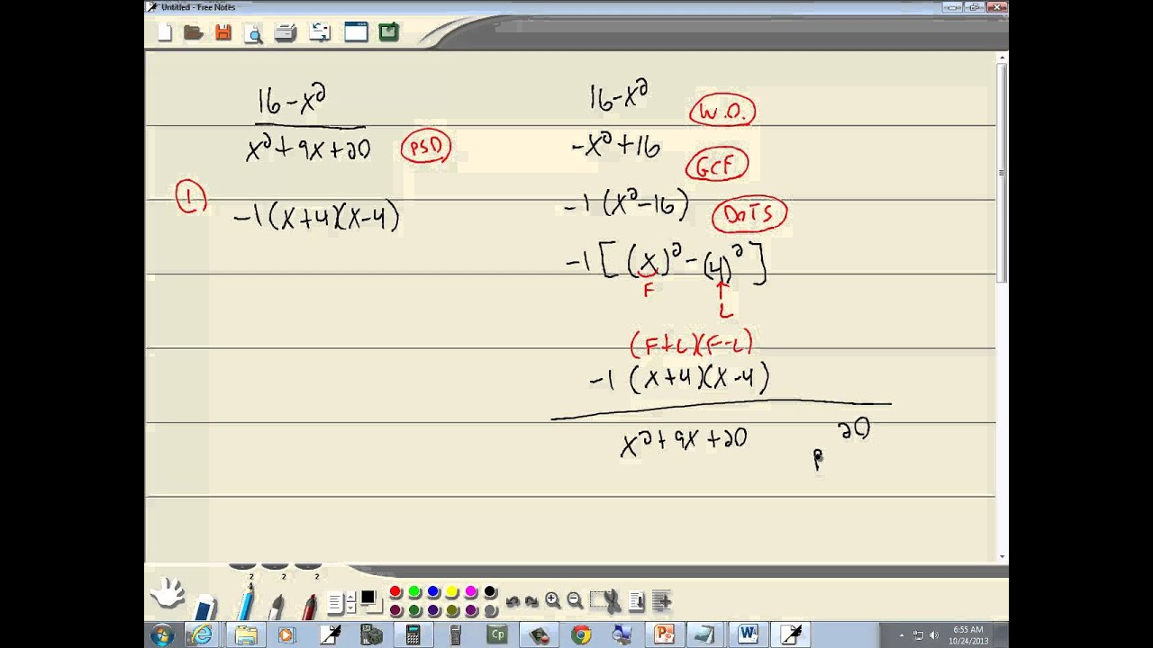 Math Review of Rational Numbers | Free Homework Help