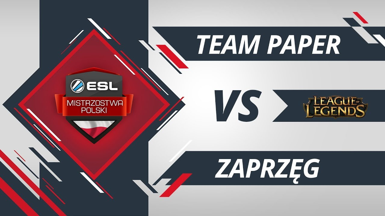 Team Paper vs Zaprzęg | EMP LoL W6D2 Gra #3