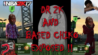 dr 2k exposed based chiko exposed at mountain dew tournament they was ranked 10 place dropped off